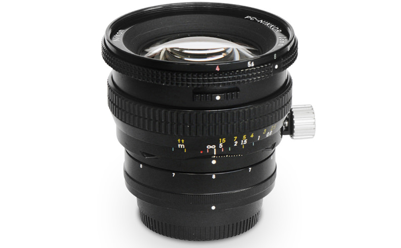 <New> PC-Nikkor 28mm F4