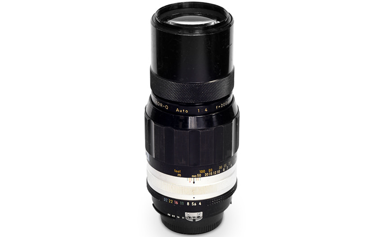 The Nikkor-Q Auto 200mm f/4