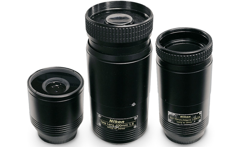 Nikon's First Toy Lenses?