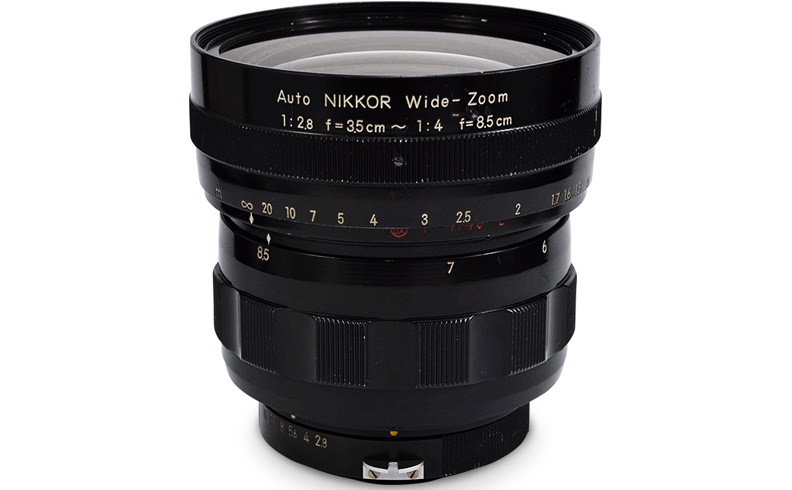 The Auto NIKKOR WIDE-ZOOM 3.5-8.5cm f/2.8-4