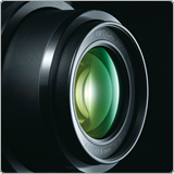 Bright f/2.0 - 4.0 lens for brilliant quality images