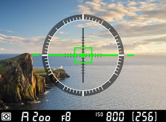 Virtual horizon Nikon D610 (C) Nikon
