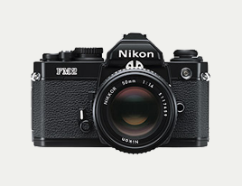 Nikon FM2 (mine is black/silver)
