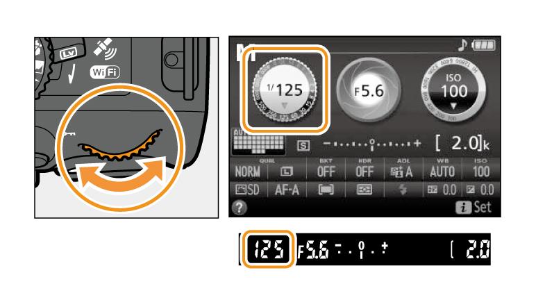 nikon d5000 manual settings