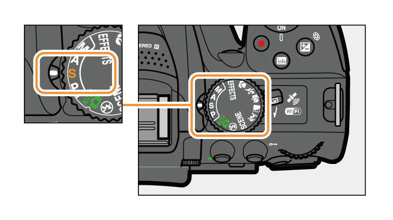 nikon d5300 how to use manual mode